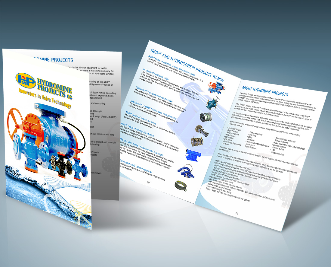 Hydromine projects product catalogue design printing reheart Image collections