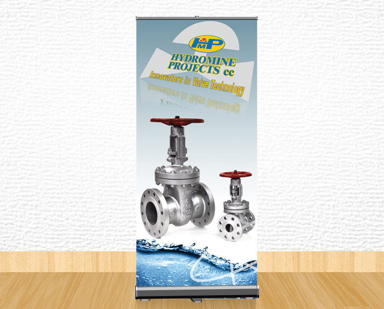 Hydromine Projects Pull-Up Banner Printing