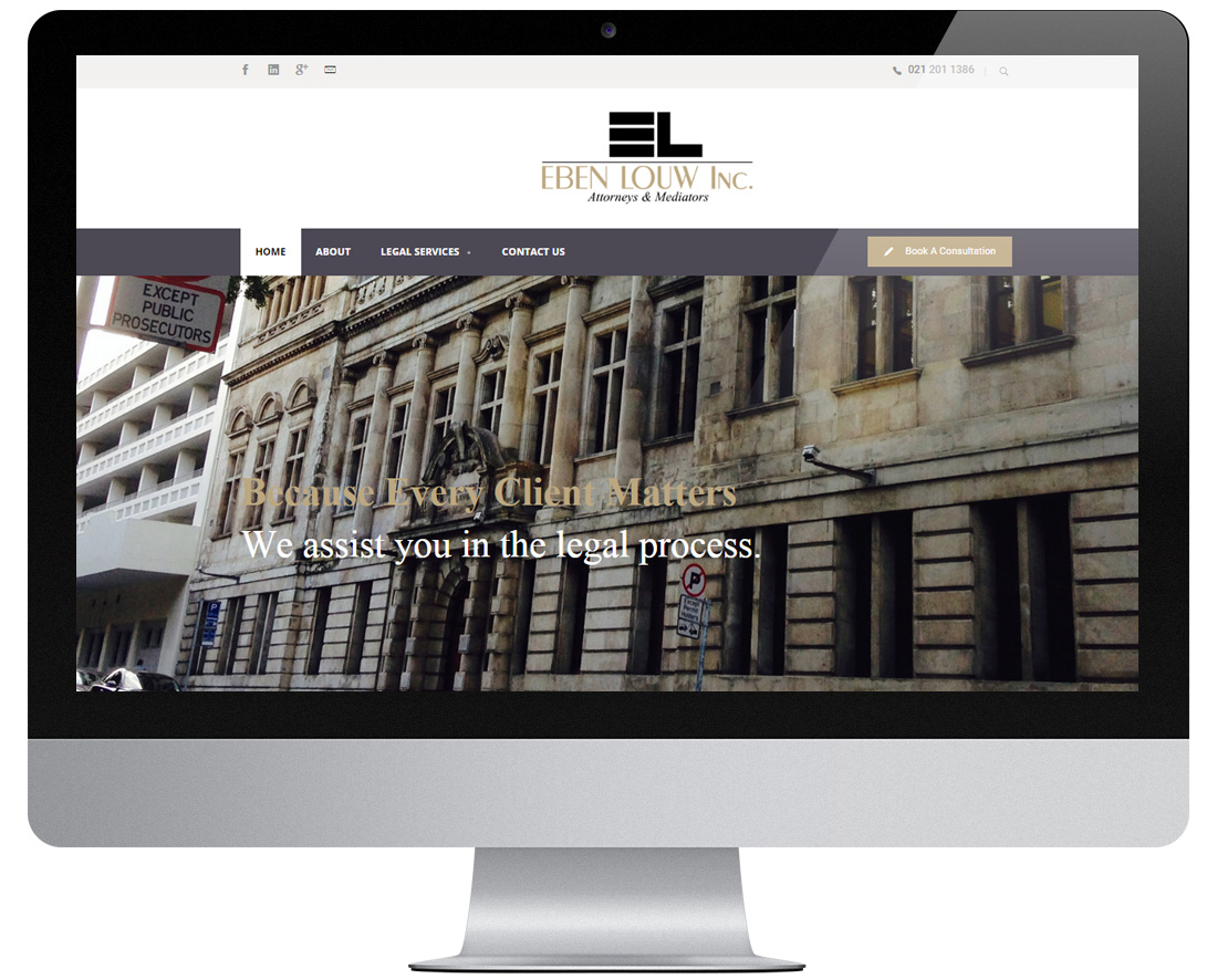 Website EbenLouw
